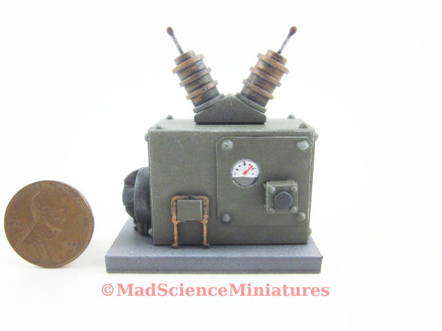 Small equipment for the miniature mad science laboratory in 1:12 scale.